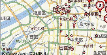 大阪毛皮買取会社地図