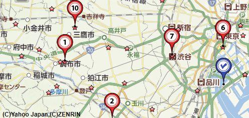 東京毛皮買取会社地図