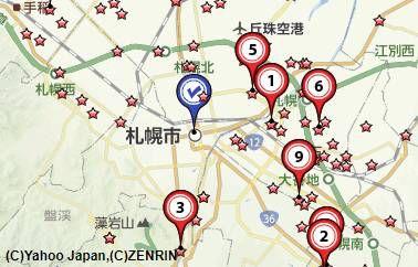 札幌買取会社地図